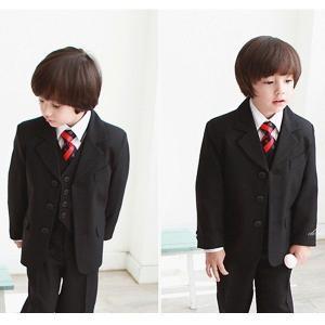 子供スーツ 男の子 卒業式 スーツ フォーマル 9点セット80 90 100 110 120 130 140 150 160 170cm|open-clothes