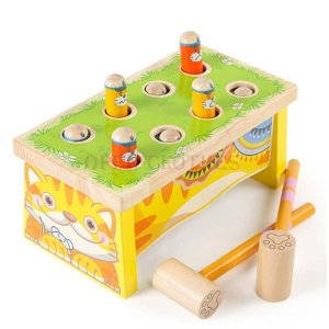 もぐらたたきおもちゃ幼児モグラたたきおもちゃ玩具ゲーム脳トレ知育玩具おもちゃ木のおもちゃ木製玩具木のおもちゃ男の子女の子|open-clothes
