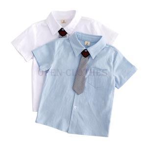 子供服男の子シャツフォーマルネクタイキッズジュニアフォーマルワイシャツYシャツ90cm100cm110cm120cm130cm140cm|open-clothes