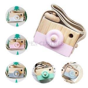 木製カメラ赤ちゃん子供おもちゃトイカメラウッドトイ写真小道具贈り物知育玩具かわいい部屋の装飾|open-clothes