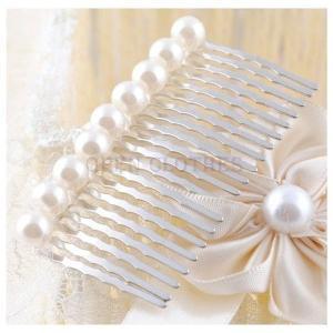 レディース髪飾りアクセサリーポイント消化ヘアアクセサリー人工真珠かんざし簪ヘアピンブライダル結婚式二次会パーティss5611|open-clothes