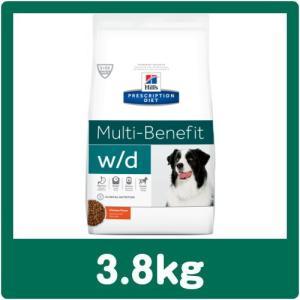 ヒルズ 犬用 w/d 3.8kg 療法食 ドッグフード wd (並行輸入品) ※ジッパー付きパッケージ