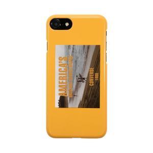 801822916a iPhone8 ケース iPhone7 ケース iPhone6s ケース iPhone6 ケース アイフォンケース CONVERSE コンバース  ハードケース Surf Life Yellow お取り寄せ