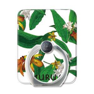 スマホリング スマートフォン リング ホールドリング スタンド MURUA(ムルーア)×Gizmobies/POINTED FLOWER お取り寄せ|option