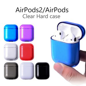 AirPods カバー かわいい Air Pods ケース おしゃれ 耐衝撃 クリアー 透明 ハード Apple AirPods ケース AirPods2 ケース エアーポッズ ケース かわいい option