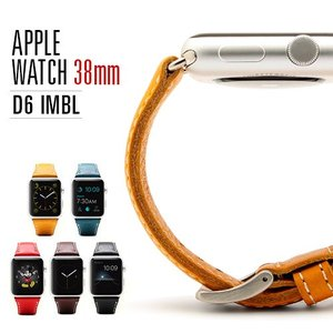 お取り寄せ Watch アップルウォッチ バンド 38mm用 ベルト SLG Design D6 IMBL ディーシックス アイエムビーエル アップルウォッチ レザー option