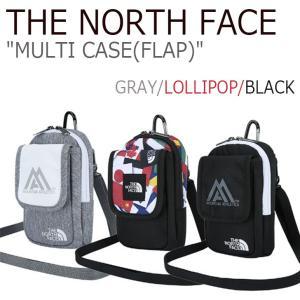 ノースフェイス バッグ THE NORTH FACE メンズ レディース MULTI CASE(FLAP) マルチケース フラップ GRAY LOLLIPOP BLACK NN2PI51C NN2PI51B NN2PI51A option