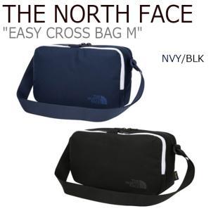 ノースフェイス ショルダーバッグ THE NORTH FACE メンズ レディース EASY CROSS BAG M イージー クロスバッグM ネイビー ブラック NN2PJ06J/K バッグ