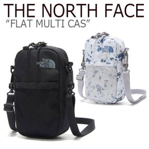 ノースフェイス ミニバッグ THE NORTH FACE メンズ レディース FLAT MULTI CASE フラット マルチ ケース ブラック ミスティーブルー NN2PK51A/C バッグ option