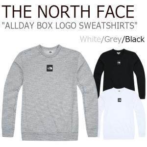 ノースフェイス トレーナー THE NORTH FACE ALLDAY BOX LOGO SWEATSHIRTS オールデー ボックスロゴ スウェットシャツ 全3色 NM5MI56J K L ウェア