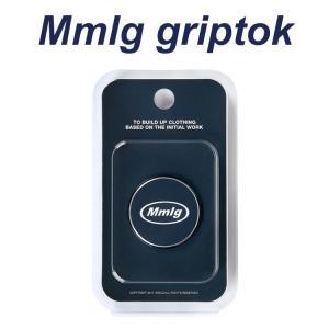 スマホグリップ 韓国 グリップトック スマートトック Smart Tok 韓国 グリップ Mmlg エムエムエルジー NAVY GRIPTOK お取り寄せ|option