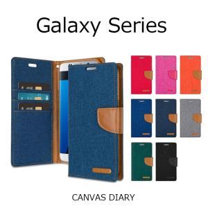 Galaxy S7 Edge ケース Galaxy S7 Galaxy A8 Galaxy S6 edge Galaxy S6 Galaxy S5 カバー Mercury CANVAS DIARY CASE 手帳型|option