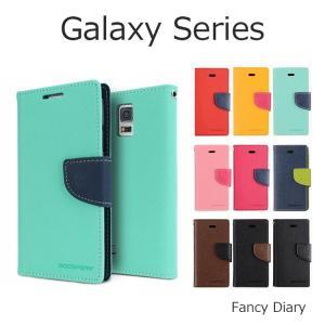 Galaxy S7 edge ケース Galaxy S8+ Galaxy S6 edge Galaxy S6 Galaxy S5 Galaxy A8 ケースカバー Mercury FANCY DIARY 手帳型|option