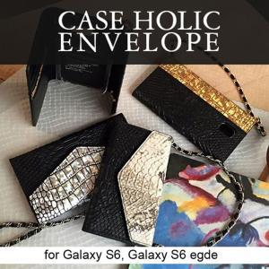 お取り寄せ Galaxy S7 edge Galaxy S6 Galaxy S6 edge ケース カバー Caseholic Case Holic Envelope スマホケース|option