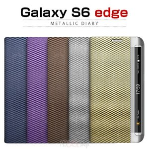 お取り寄せ Galaxy S6 edge ケース Zenus Metallic Diary ゼヌス メタリックダイアリー 手帳型 ケース カバー Galaxy S6 edge SC 04G SCV31|option