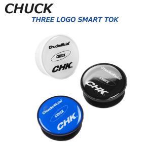 スマホグリップ 韓国 グリップトック スマートトック Smart Tok 韓国 グリップ CHUCK チャック THREE LOGO SMART TOK 韓国人気 19FWSTTL01BK お取り寄せ|option