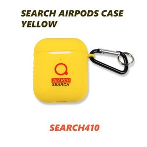 AirPods ケース airpods カバー エアポッズ SEARCH410 韓国 SEARCH AIRPODS CASE YELLOW お取り寄せ|option