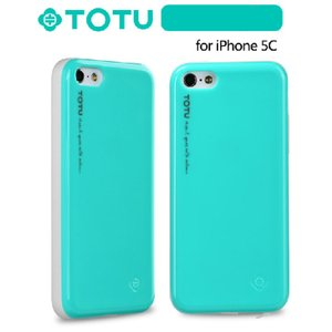iPhone5C スマホケース TOTU ネオンシェル iP...