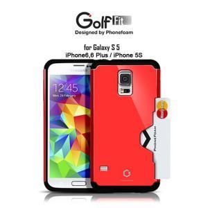 お取り寄せ iPhone 6 6 Plus 5s Galaxy S5 スマホケース GOLF FIT 10色 バー ケース カバー|option