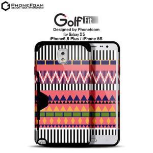 お取り寄せ iPhone 6 6 Plus 5s Galaxy S5 スマホケース GOLF FIT 7色 バー ケース カバー|option