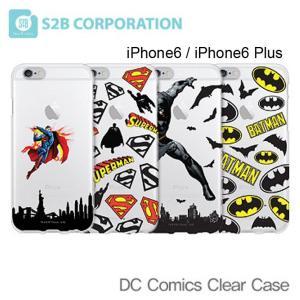 お取り寄せ iPhone 6 6 Plus スマホケース DC COMIC Clear Case バー ケース カバー iPhone 6 iPhone 6 Plus|option