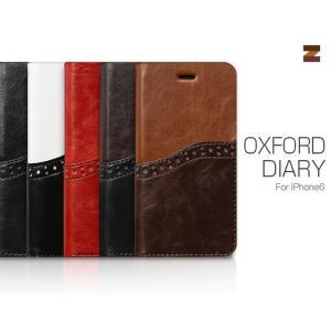 お取り寄せ iPhone6s iPhone6 ケース カバー ZENUS Oxford Diary オックスフォードダイアリー 手帳型 ケース スマホケース|option