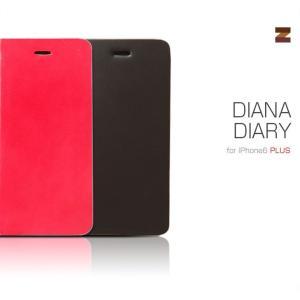 お取り寄せ iPhone6s Plus iPhone6 Plus ケース カバー ZENUS Diana Diary ダイアナダイアリー 手帳型 レザーケース スマホケース|option
