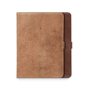 お取り寄せ iPad Air iPad 9.7インチ 2018 2017 ZENUS Prestige Retro Vintage Diary プレステージ レトロビンテージダイアリー スタンド機能付 本革|option
