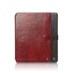 お取り寄せ iPad Air iPad 9.7インチ 2018 2017 ZENUS Masstige Neo Classic Diary スタンド機能付 イタリアン合成皮革 タブレットケース|option