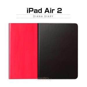 お取り寄せ iPad Air 2 ケース カバー ZENUS Diana Diary ゼヌス ダイアナダイアリー iPadAir 2|option