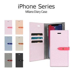 iPhone XS ケース iPhone X ケース iPhone XS Max ケース iPhoneXR ケース 手帳型 MERCURY MILANO DIARY 耐衝撃 マグネット|option