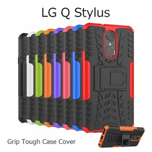 グリップタフ ケース カバー LG Q Stylus (801LG)  LG電子の最新モデル人気機種...