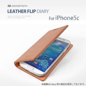 iPhone5c ケース カバー mercury GOOSPERY LETHER FLIP DIARY 手帳型 レザーケース for iPhone 5c スマホケース