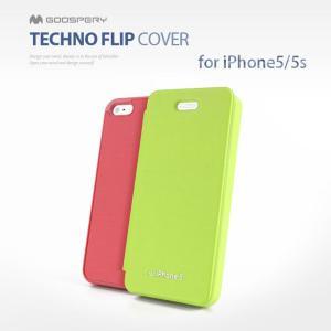 GALAXY S5 スマホケース mercury GOOSPERY Techno Flip cover 手帳型 レザーケース Galaxy S5 SC 04F SCL23|option