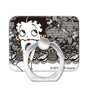 スマホリング スマートフォンリング LIP SERVICE リップサービス Betty Boop ベティー ブープ Lace_BETTY お取り寄せ|option