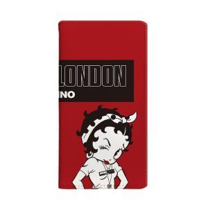 マルチ対応 全機種対応 ケース MICHIKO LONDON ミチコロンドン Betty Boop ベティー ブープ  手帳型 street style お取り寄せ option