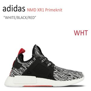 adidas NMD XR1 Primeknit WHITE BLACK RED アディダス NMD S32216 シューズ スニーカー