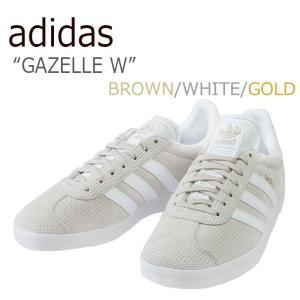 アディダス スニーカー adidas メンズ レディース GAZELLE W ガゼル W BROWN...