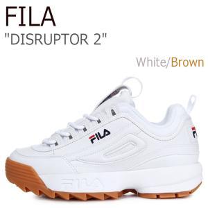 フィラ スニーカー FILA メンズ レディース DISRUPTOR 2 ディスラプター2 Whit...