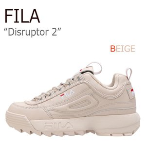 フィラ ディスラプター2 スニーカー FILA レディース Disruptor 2 BEIGE ベー...