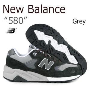 New Balance 580 Grey ニューバランス グレー MRT580GR スニーカー シュ...