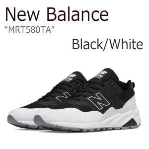 New Balance MRT 580 TA Black White ニューバランス MRT580TA シューズ スニーカー