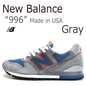 New Balance 996 グレー オレンジ ニューバラ...