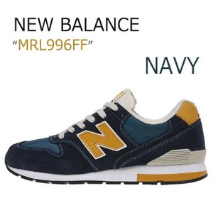 New Balance Navy/Mustard 【ニューバランス】【MRL996FF】    スエ...