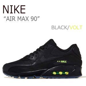 ナイキ スニーカー NIKE メンズ AIR MAX 90 エアマックス90 BLACK VOLT ...
