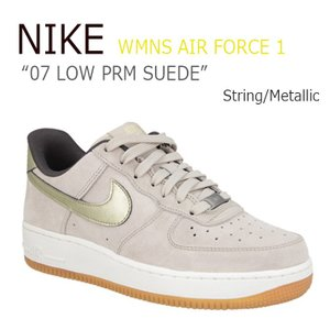 NIKE WMNS AIR FORCE 1 07 LOW PRM SUEDE/String/Meta...