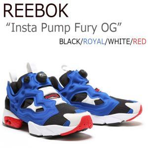 Reebok INSTAPUMP FURY ポンプフューリー ROYAL WHITE RED M40...