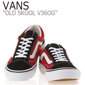 バンズ オールドスクール スニーカー VANS メンズ レディース OLD SKOOL RED BL...