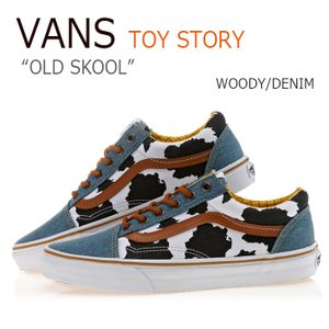 Vans TOY STORY OLD SKOOL WOODY DENIM バンズ オールドスクール トイストーリー ウッディ VN0A31Z9LU4 シューズ スニーカー
