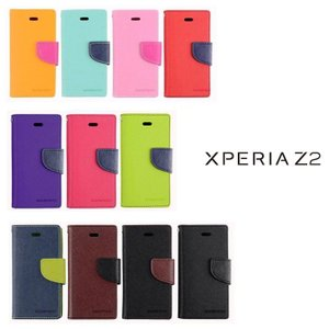 xperia z2 スマホケース mercury 手帳型 スタンド PU レザーケース カバー XperiaTM Z2 SO 03F エクスペリアz2 カバー SO 03 ケース|option